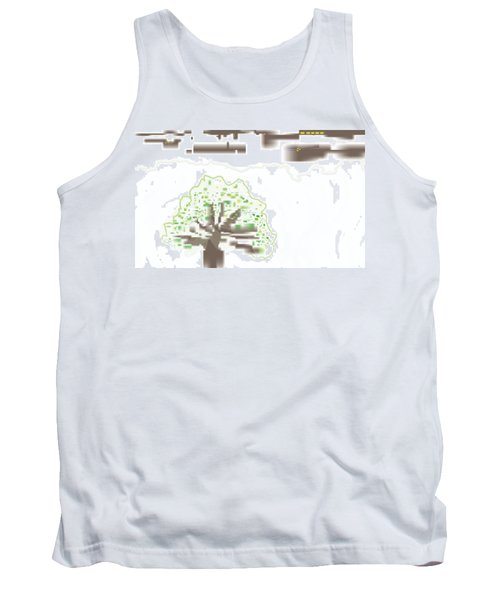 City Tree Tank Top by Kevin McLaughlin
