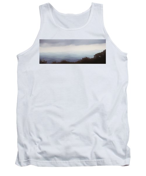 Clouds In The Mountains Tank Top