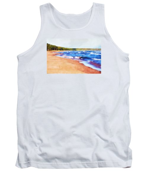 Tank Top featuring the photograph Colors Of Water by Phil Perkins