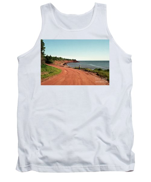 Contemplation Tank Top by Kathy McClure