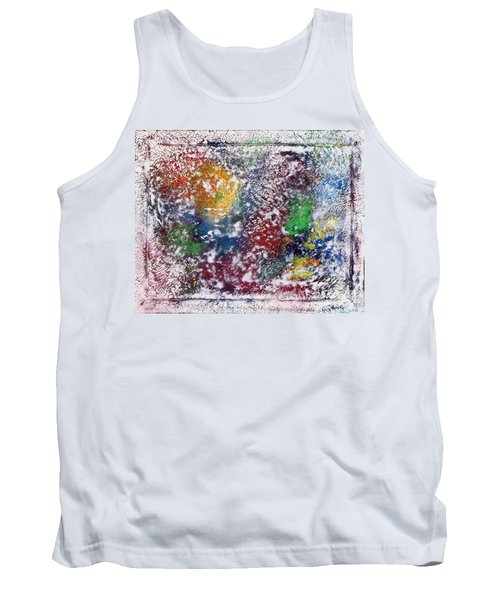 Tank Top featuring the painting Cosmos by Alys Caviness-Gober