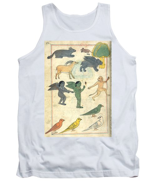 Creatures From The Island Of Zanj, 17th Tank Top