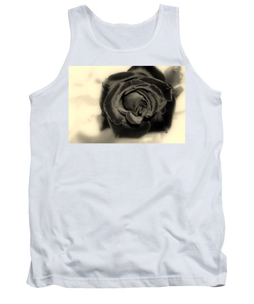 Tank Top featuring the photograph Dark Beauty by Kay Novy