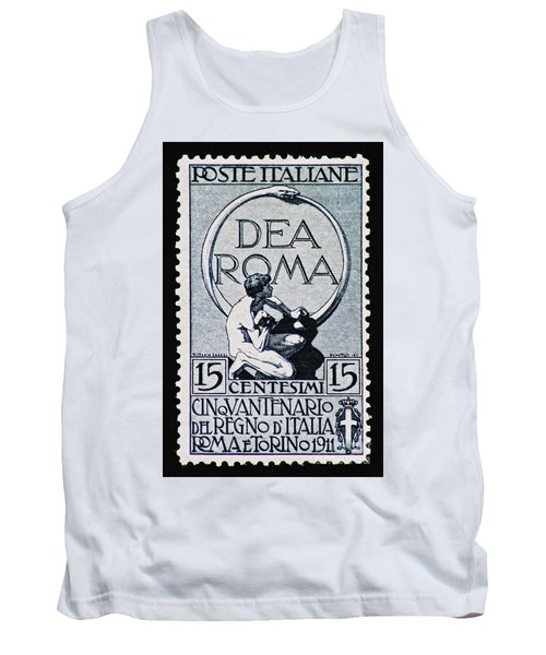 Tank Top featuring the photograph Dea Roma by Andy Prendy