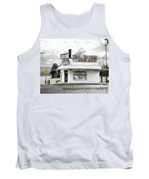 Tank Top featuring the photograph Dead End by Lizi Beard-Ward