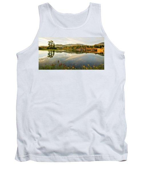 Tank Top featuring the photograph Deer Island Bridge by Albert Seger