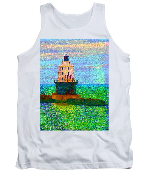 Tank Top featuring the photograph Delight House by Clara Sue Beym