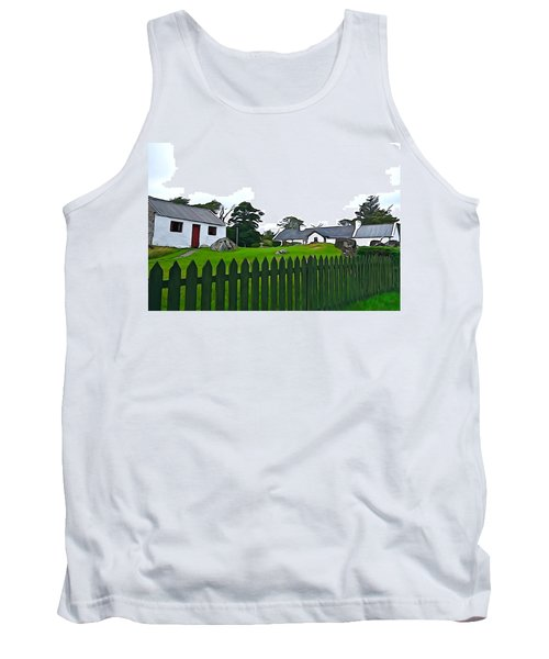 Tank Top featuring the photograph Donegal Home by Charlie and Norma Brock