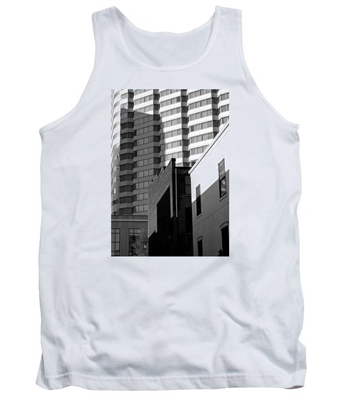 Downtown Lines Tank Top by Jean Haynes