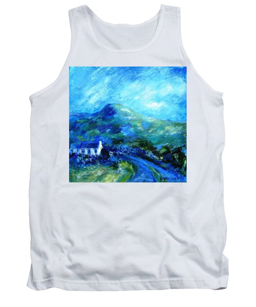 Eagle Hill Lane -ireland  Tank Top by Trudi Doyle