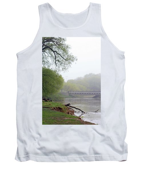 Tank Top featuring the photograph Early Spring Morning Fog by Kay Novy