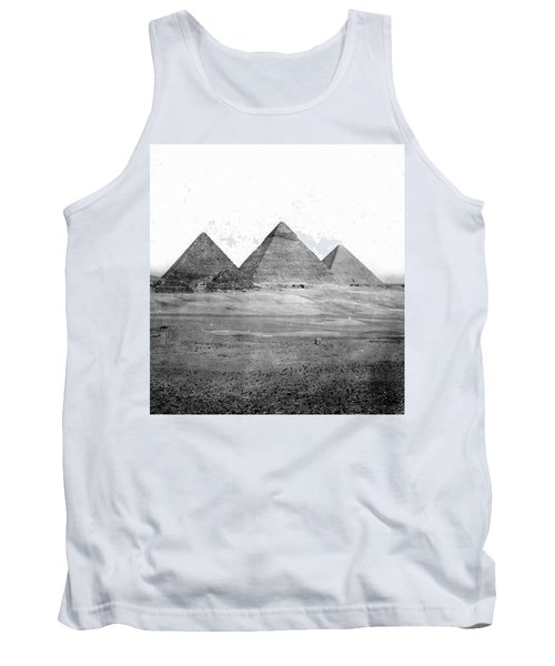 Egyptian Pyramids - C 1901 Tank Top by International  Images