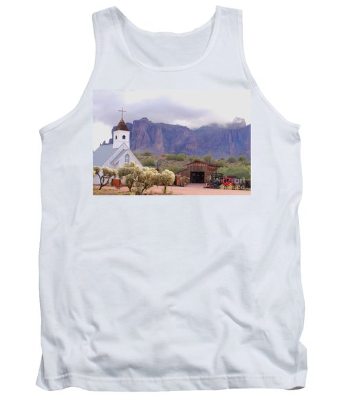 Tank Top featuring the photograph Elvis Memorial Chapel by Tam Ryan