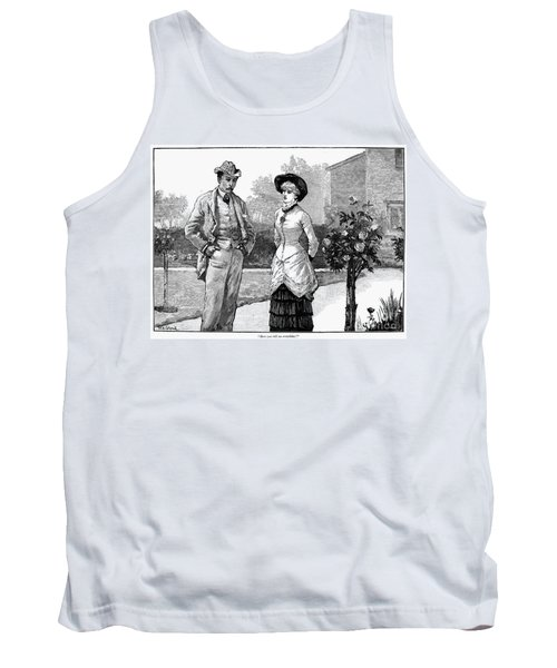 English Couple, 1883 Tank Top