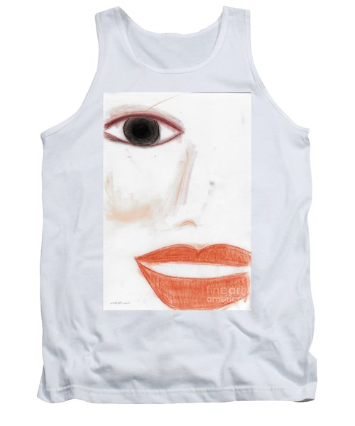 Tank Top featuring the photograph Face by Vicki Ferrari
