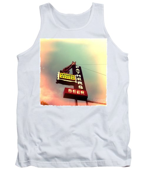 Father's Office Beer Tank Top