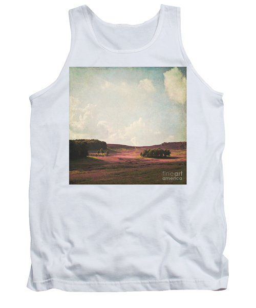 Fields Of Heather Tank Top by Lyn Randle
