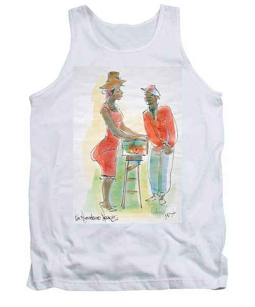 Fish And Bammy Tank Top