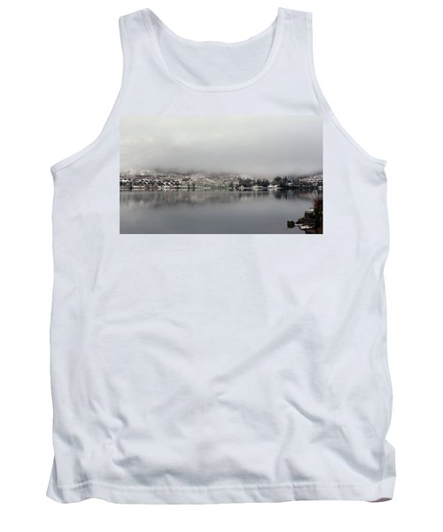 Tank Top featuring the photograph Fog On The Loch by Lynn Bolt