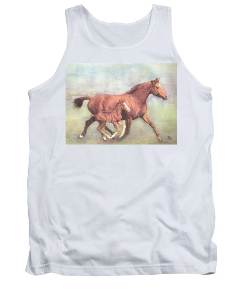 Free And Fleet As The Wind Tank Top