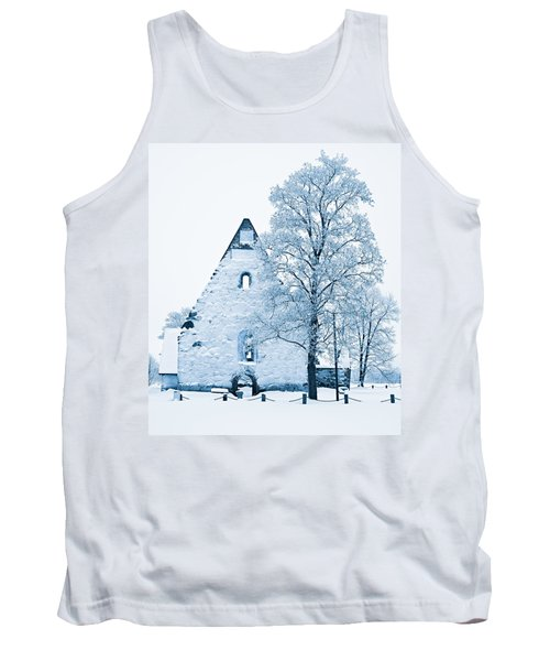Frosty Ruins Tank Top