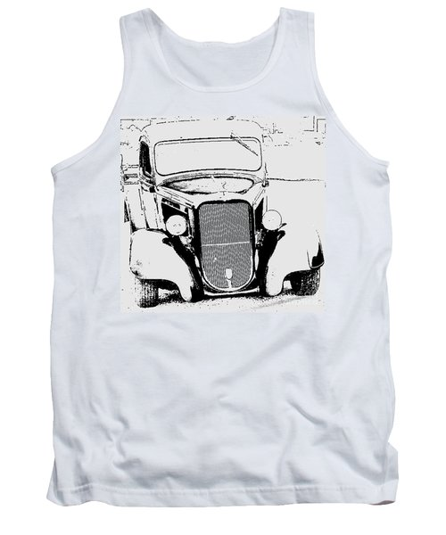 Good Ole Days Tank Top by Greg Moores