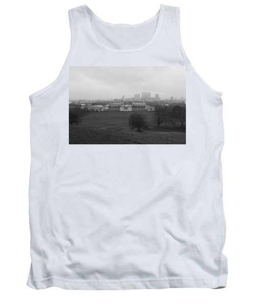 Tank Top featuring the photograph Greenwich View by Maj Seda