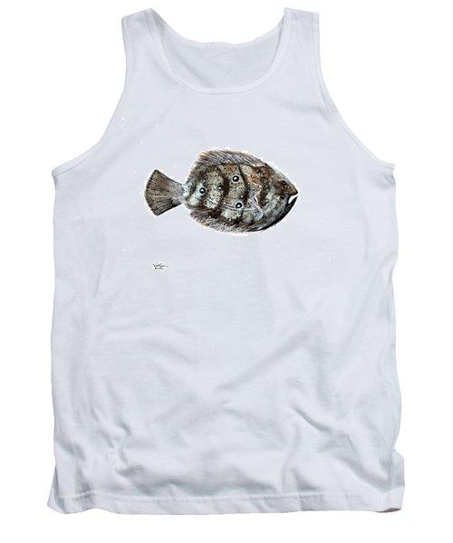 Gulf Flounder Tank Top