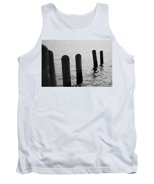 Tank Top featuring the photograph Harbor Ties by Tony Cooper