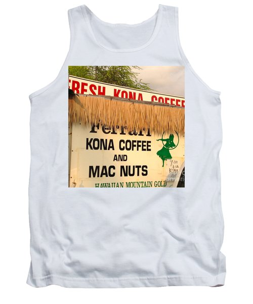 Tank Top featuring the photograph Hawaiian Food Truck by Beth Saffer