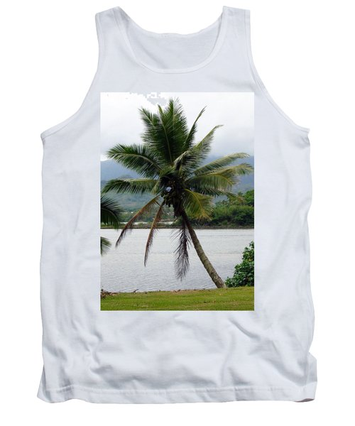 Tank Top featuring the photograph Hawaiian Palm by Athena Mckinzie