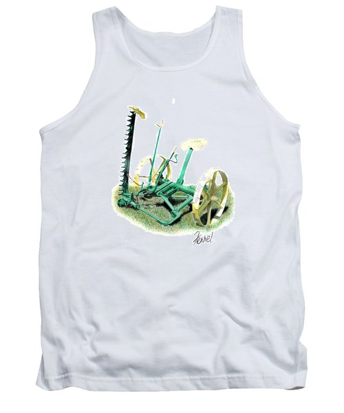 Hay Cutter Tank Top by Ferrel Cordle