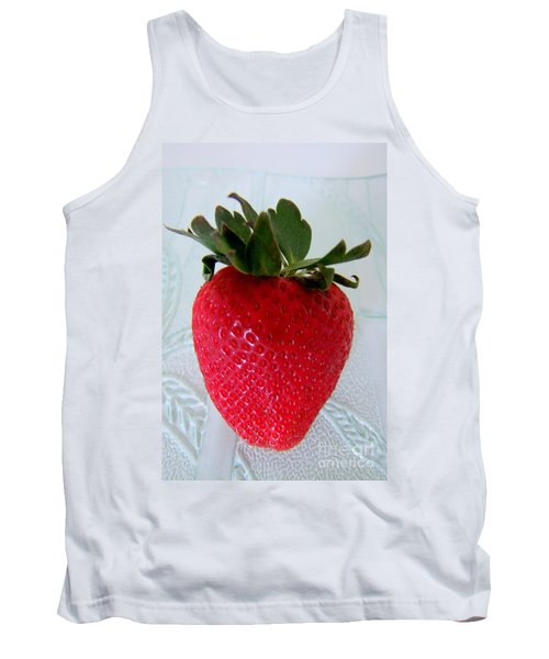 Hearty Red Strawberry Tank Top
