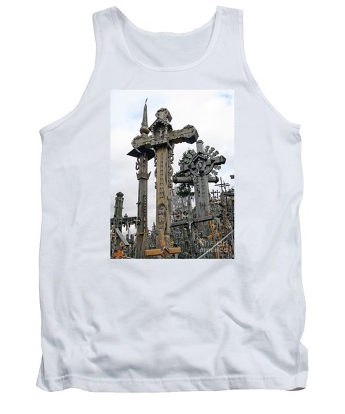 Hill Of Crosses 09. Lithuania Tank Top
