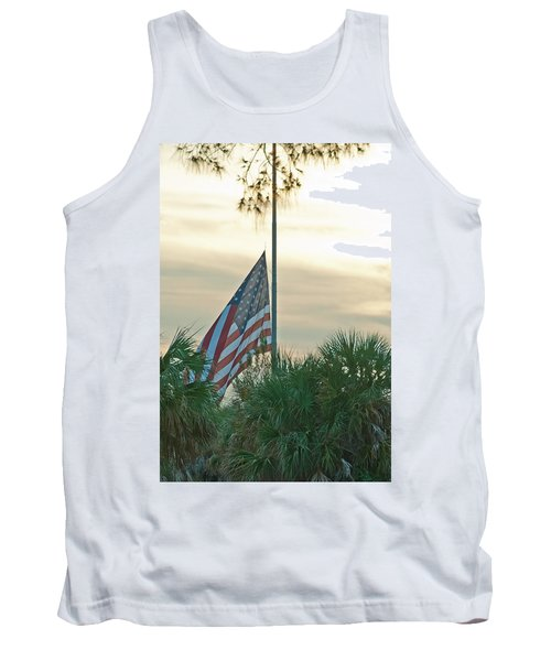 Honoring A Hero Tank Top