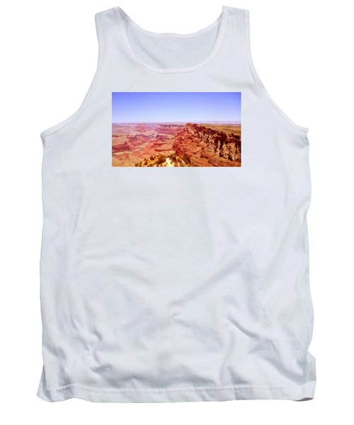 horizon in Grand Canyon Tank Top by Rima Biswas
