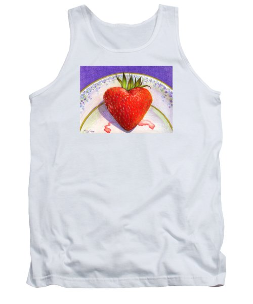 I Love You Berry Much Tank Top