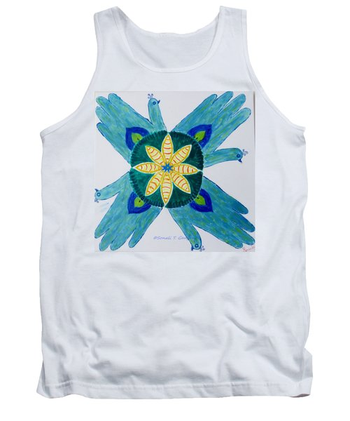 Tank Top featuring the painting Impression by Sonali Gangane