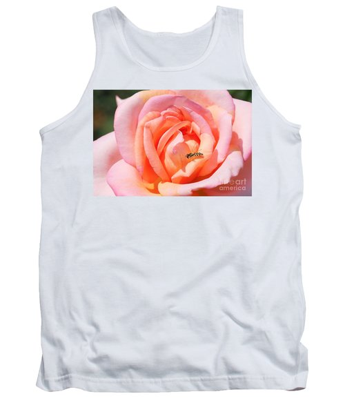 Tank Top featuring the photograph In Search Of Nectar by Fotosas Photography