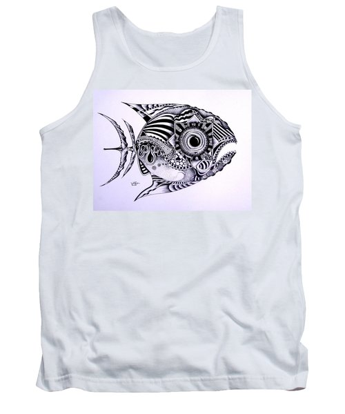 Incomplete Anger Tank Top
