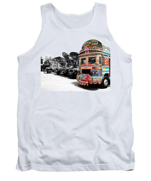 Indian Truck Tank Top