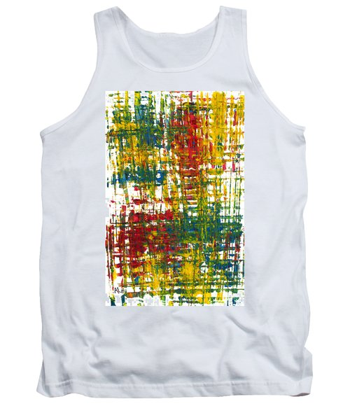 Tank Top featuring the painting Inside My Garden II 162.110411  by Kris Haas