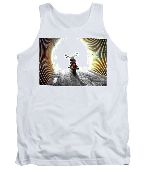 Tank Top featuring the photograph Into The Light by Blair Stuart
