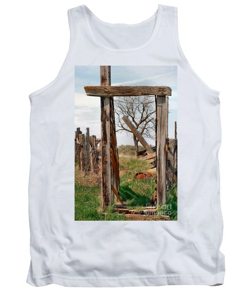 Into The Past Tank Top