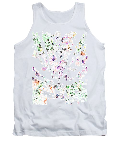 Tank Top featuring the digital art It's A Mad World  by Steve Taylor