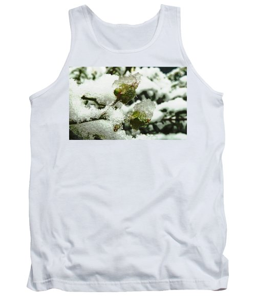 Tank Top featuring the photograph Liquid Crystal  by Steve Taylor