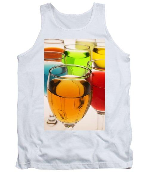 Liquor Glasses Tank Top