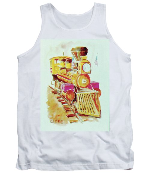 Locomotive Tank Top by Frank Hunter