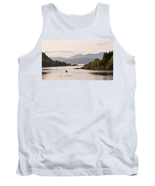 Looking To The Isle Of Mull Tank Top