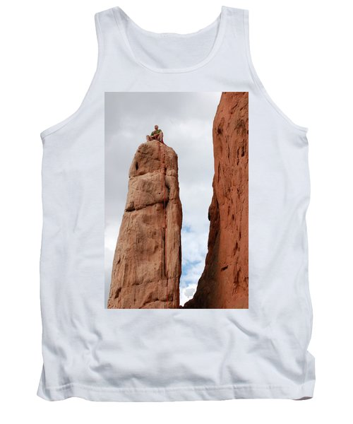 Lunch In The Mountains Tank Top by Randy J Heath
